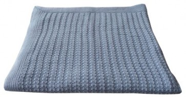 Plaid Cable blauw